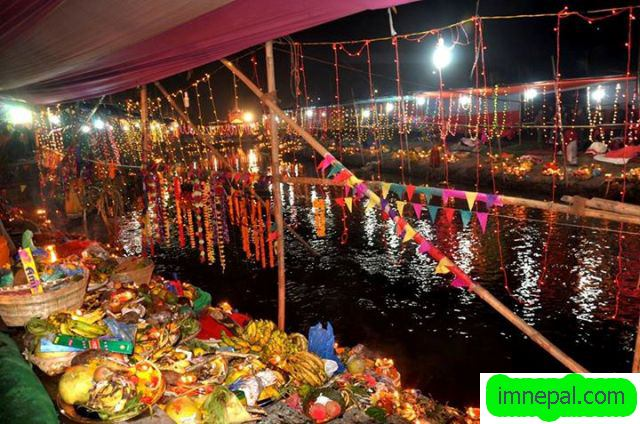 Chhath Puja celebration in Bagmati river of Kathmandu Nepal places to visit see