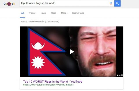 These Guys Made a Video about Nepal's Flag is the Worst Flags in the World
