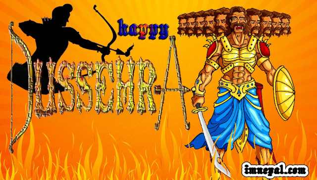 Happy Dussehra Dasara Vijayadashami HD greetings Wishes Wishing cards wallpapers pictures images