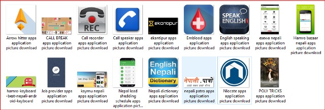 famous popular nepali android mobile apps application in nepal pictures