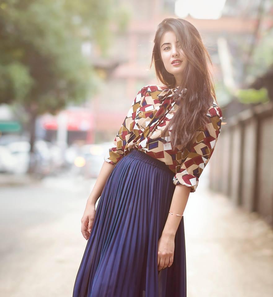 niti shah Nepali actress image