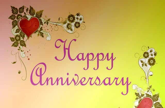 Happy wedding marriage anniversary wishes to facebook friends