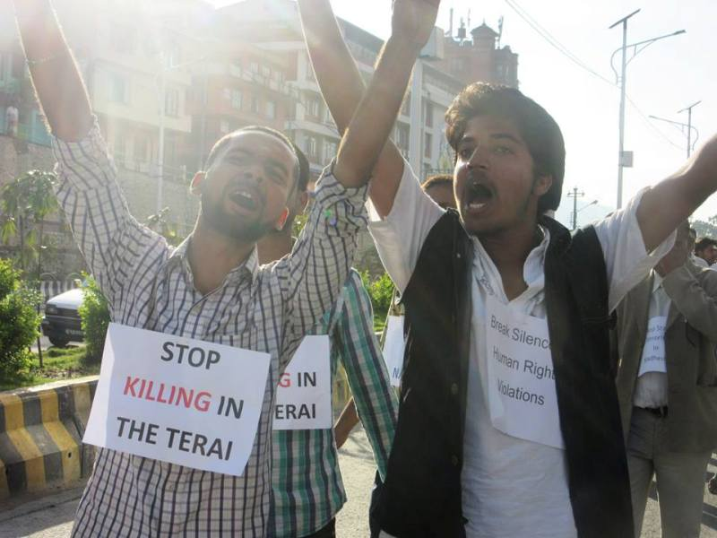 madhesh movement in nepal