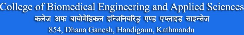 College of Biomedical Engineering and Applied Science Nepal
