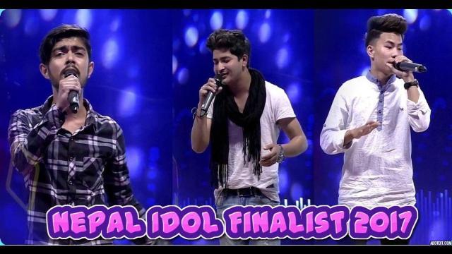 Nepali First Idol finalist top 3