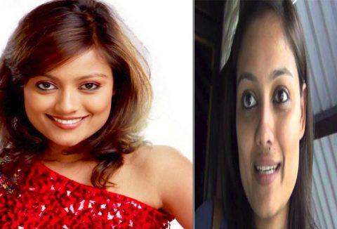 Richa Sharma Before & After Makeup
