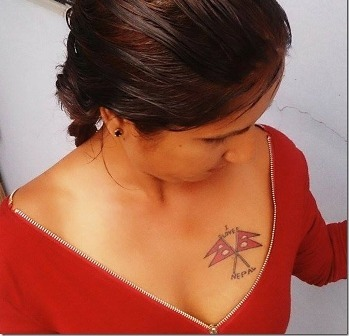 10 Nepali Actresses With Tattoos Pictures That Will Make You Awesome