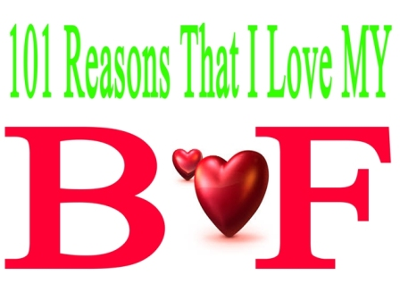 101 reasosn that i love boyfriend