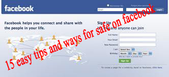 15 easy ways and tips for safe on facebook