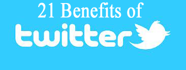 21 ways twitter helps you