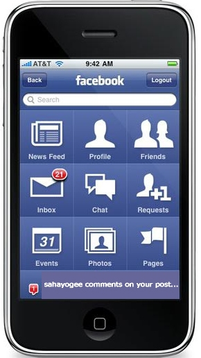how to download facebook application for iphone from computer
