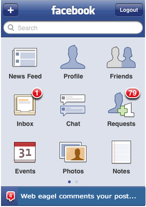 latest version of facebook for android mobile phone