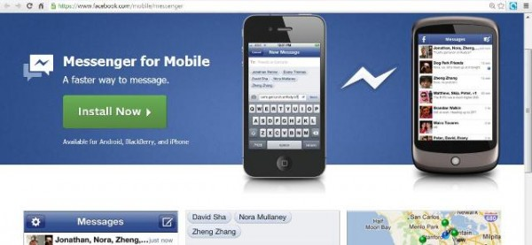reason to use facebook messenger for mobile