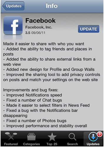 reasons to access facebook for iphone1