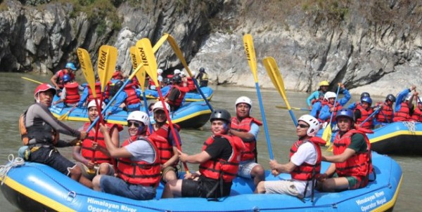 rafting in nepal rivers