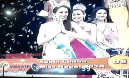 Miss Nepal 2014 Subin Limbu Photo