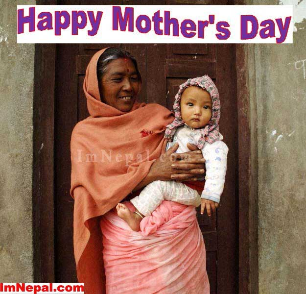 happy mother's day 2014 in Nepal