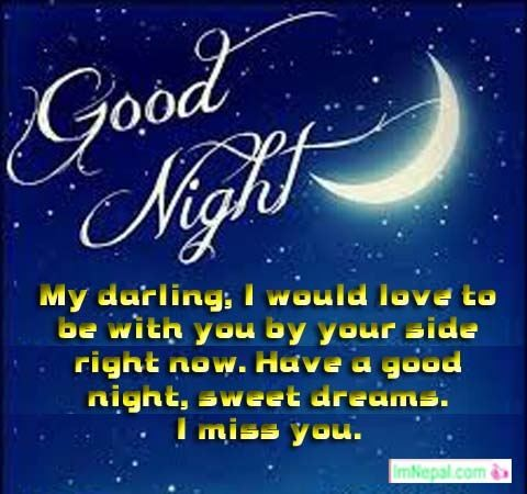 Good Night Wishes Messages For Husband From Wife In English